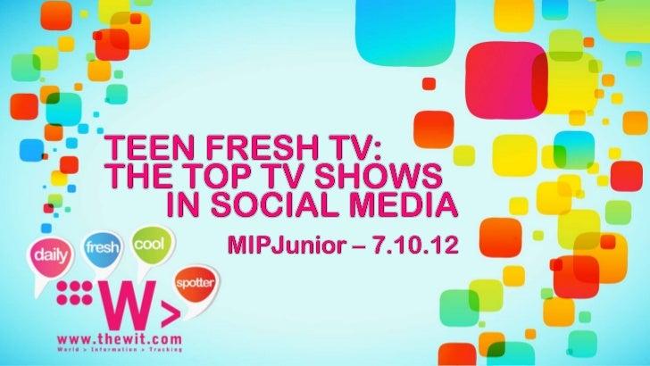 @TheWitFreshTVwe                                    helpbroadcasters, producers, advertisers findthe best tv & digital con...