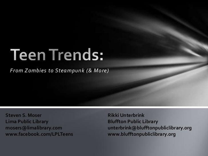 Teen trends 08 12