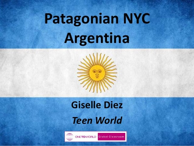 Patagonian NYC Argentina  Giselle Diez Teen World