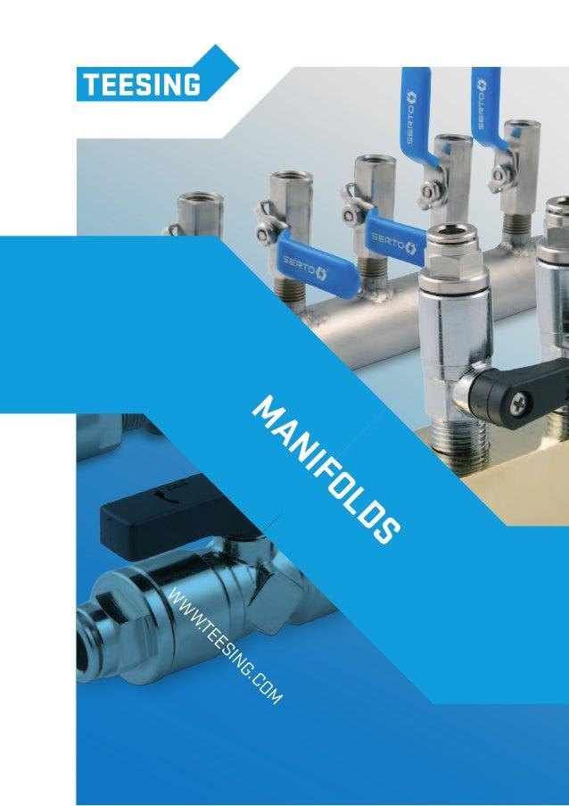 Teesing Manifolds/ Air Headers