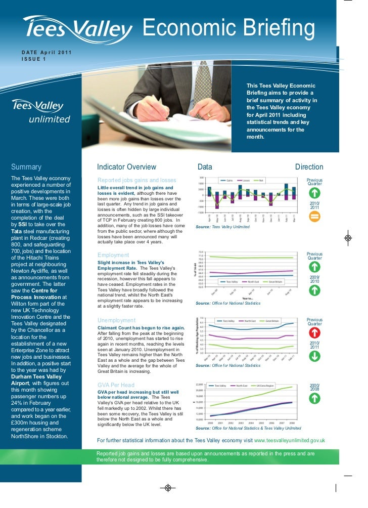 Economic Briefing     D AT E A p r i l 2 0 11     ISSUE 1                                                                 ...