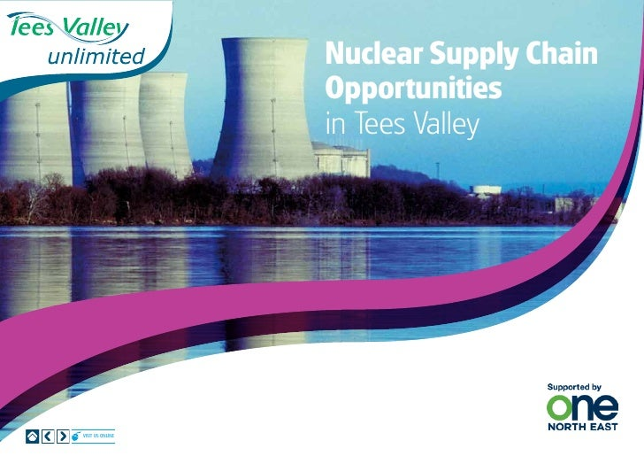 Nuclear Supply Chain                  Opportunities                  in Tees ValleyVisit us online