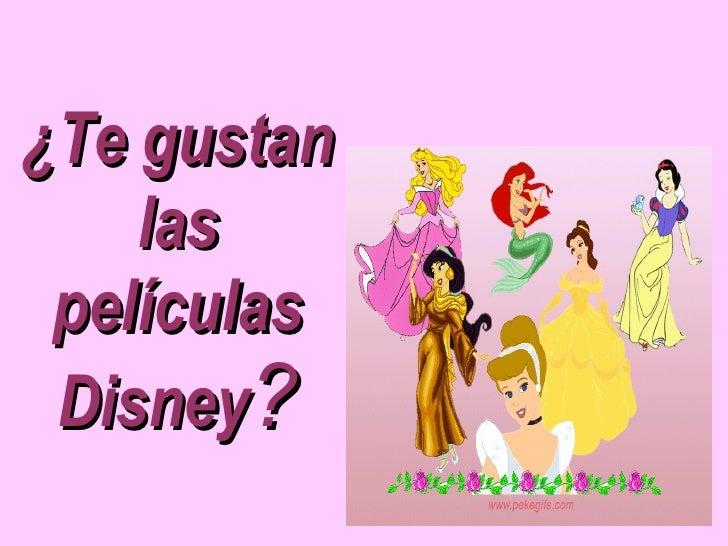 ¿Te gustan las películas Disney ?