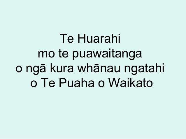 Te huarahi path power point