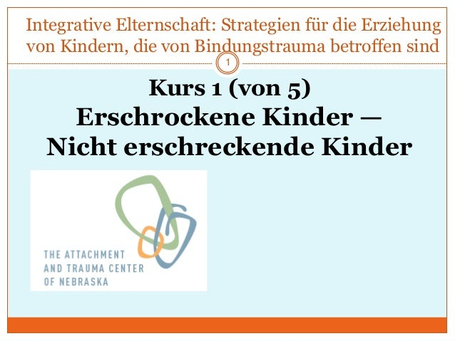 Integrative Elternschaft: Strategien für die Erziehung von Kindern, die von Bindungstrauma betroffen sind Kurs 1 (von 5) E...