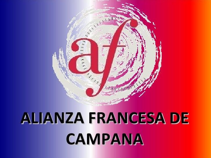 ALIANZA FRANCESA DE CAMPANA