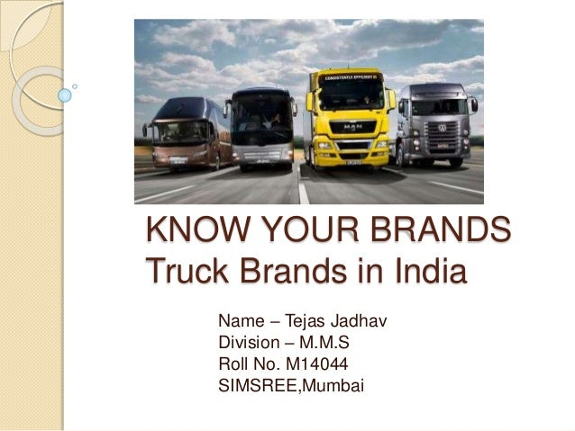 Truck Companies In India