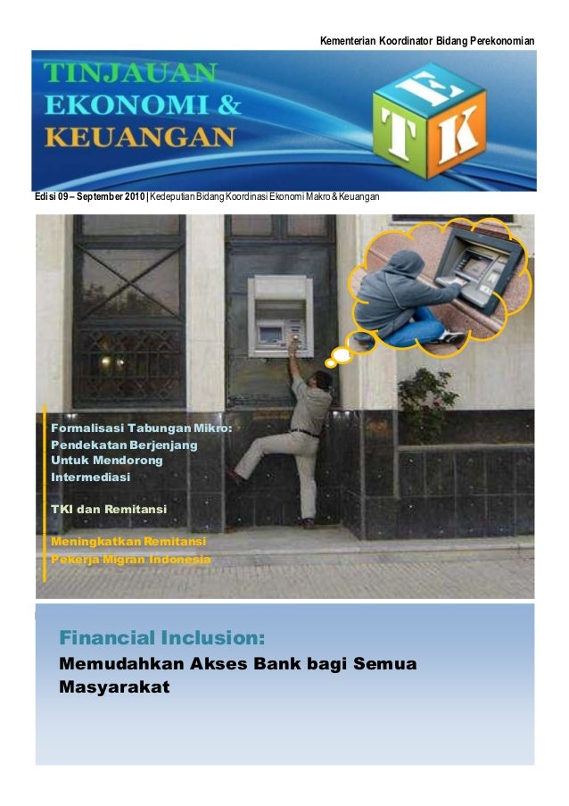 Kementerian Koordinator Bidang Perekonomian Edisi 09 – September 2010|KedeputianBidangKoordinasiEkonomi Makro&Keuangan Edi...