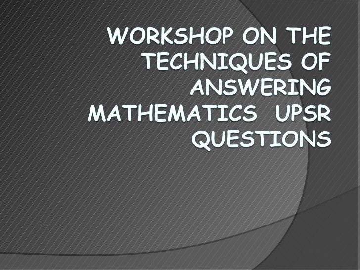 TOPICS FOR MATHEMATICS UPSR1.   Numbers and Operations       -   Add                                      Subtract        ...