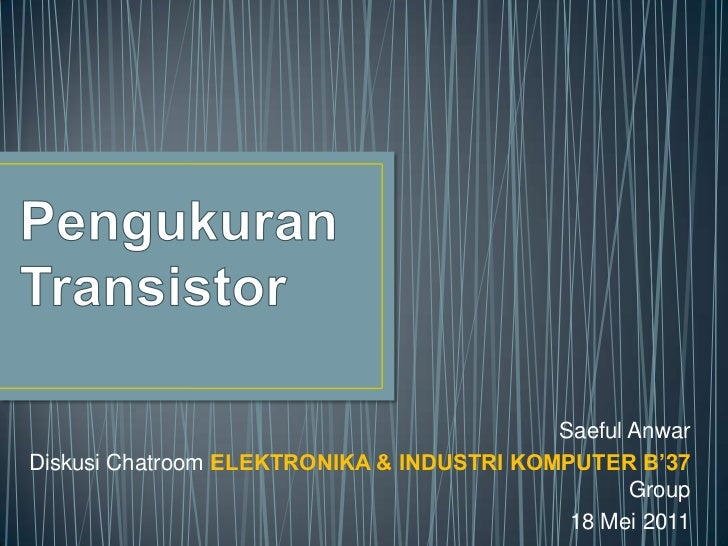 Teknik pengukuran transistor