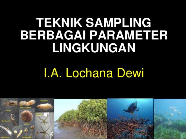 TEKNIK SAMPLINGBERBAGAI PARAMETERLINGKUNGANI.A. Lochana Dewi
