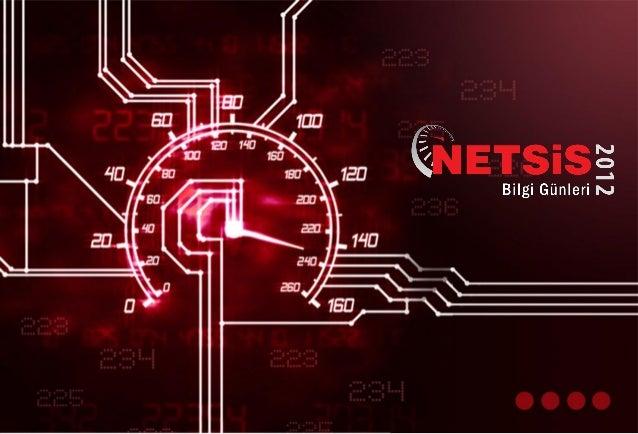 Netsis Bilgi Günleri Teknoloji Sunumu