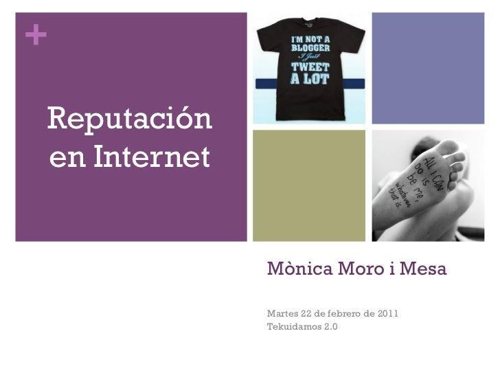 Reputación en Internet