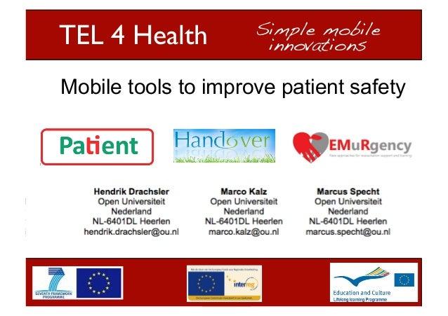 Presentation of the SIG TEL 4 Health