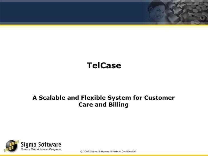 Telcase Presentation Oct 2007