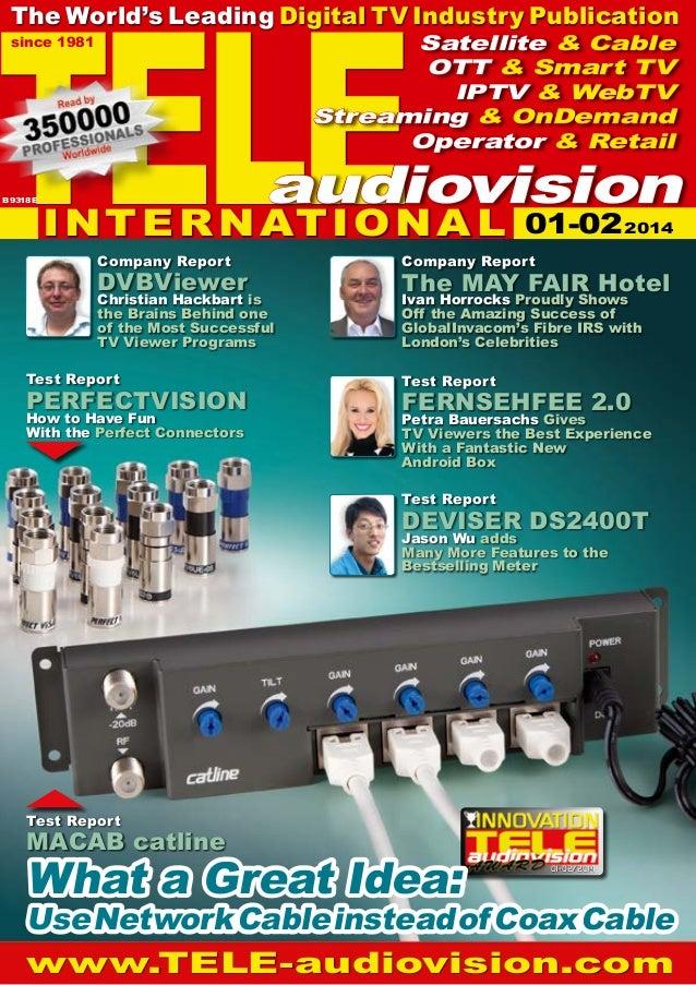 TELE  The World's Leading Digital TV Industry Publication Satellite & Cable OTT & Smart TV IPTV & WebTV Streaming & OnDema...