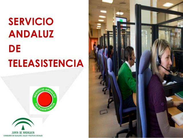 Informe Servicio Andaluz de Teleasistencia