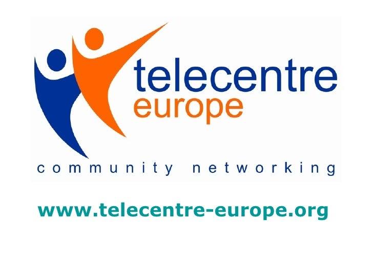 Telecentre Europe (VF) - EPN 2.0 CRéATIF
