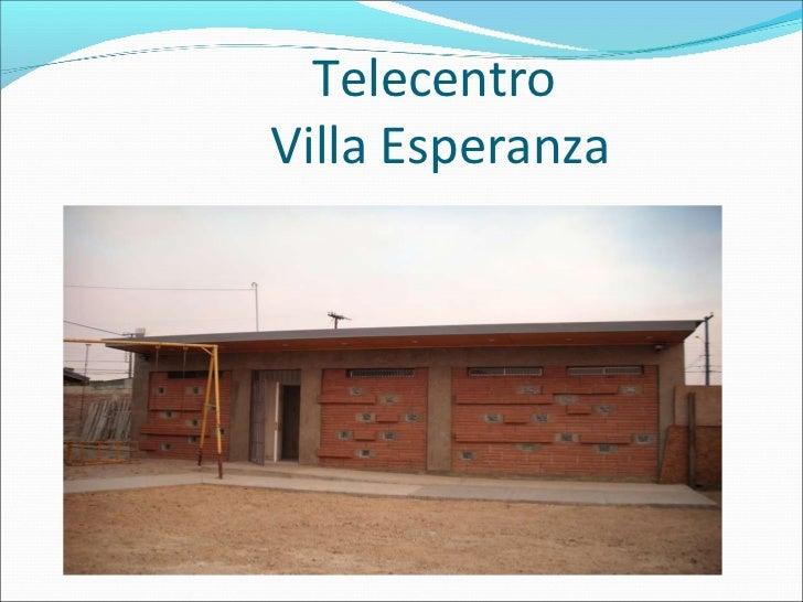 Telecentro  Villa Esperanza