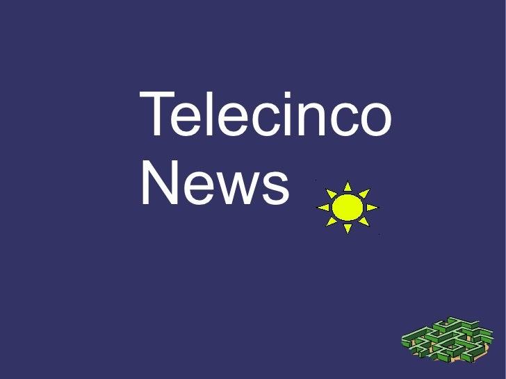 Telecinco news