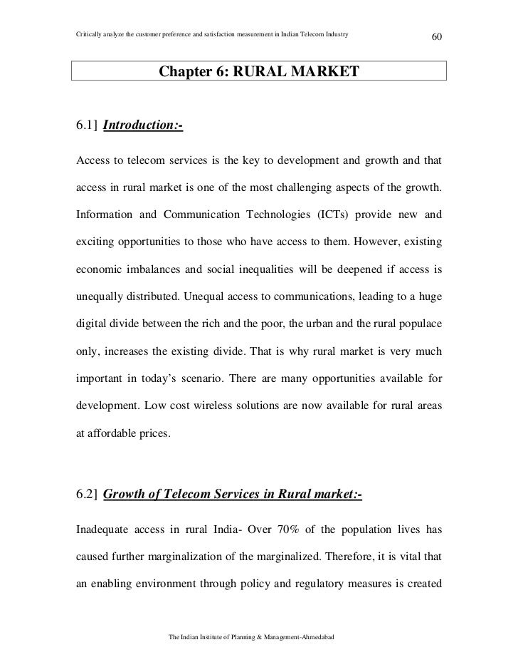 Customer satisfaction dissertation proposal