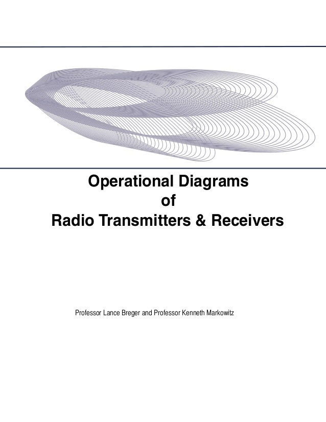 Operational Diagrams of Radio Transmitters & Receivers  Professor Lance Breger and Professor Kenneth Markowitz