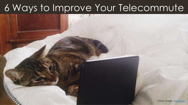 6 Ways to Improve Your Telecommute Photo Credit: Marie Bee