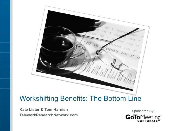 Telecommuting Benefits: The Bottom Line for Companies, Employees & the Community
