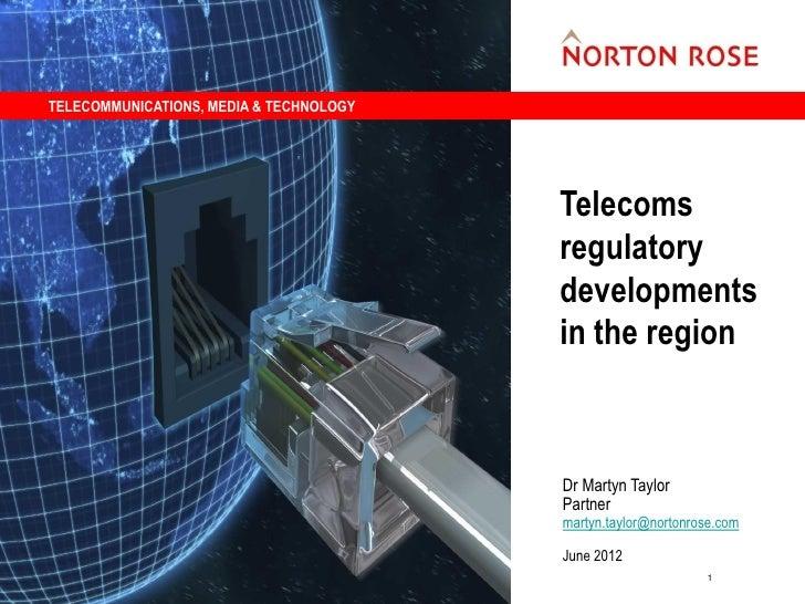TELECOMMUNICATIONS, MEDIA & TECHNOLOGY                                         Telecoms                                   ...