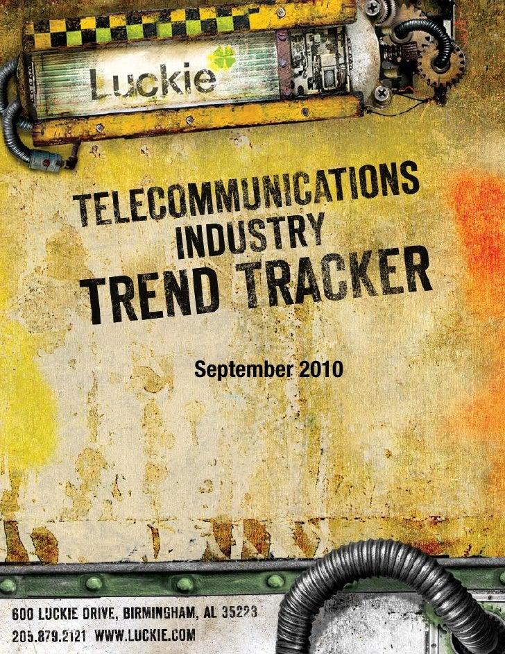 Telecom Trend Tracker September 2010