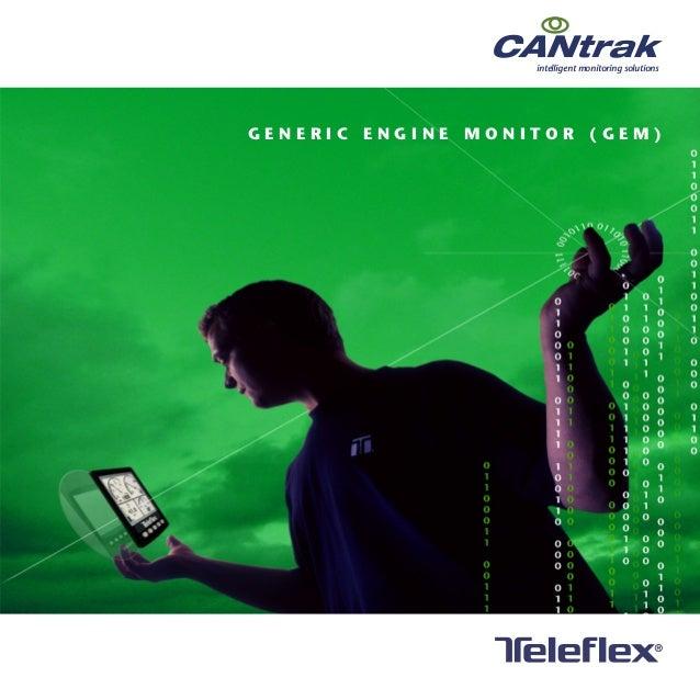 G E M M A N U A L intelligent monitoring solutions G E N E R I C E N G I N E M O N I T O R ( G E M )