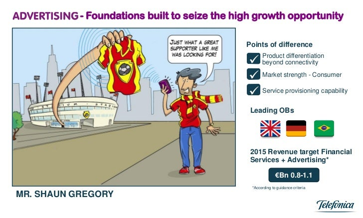 - Foundations built to seize the high growth opportunity                                              Points of difference...