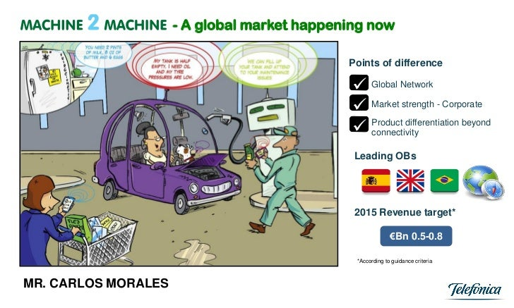 - A global market happening now                                             Points of difference                          ...