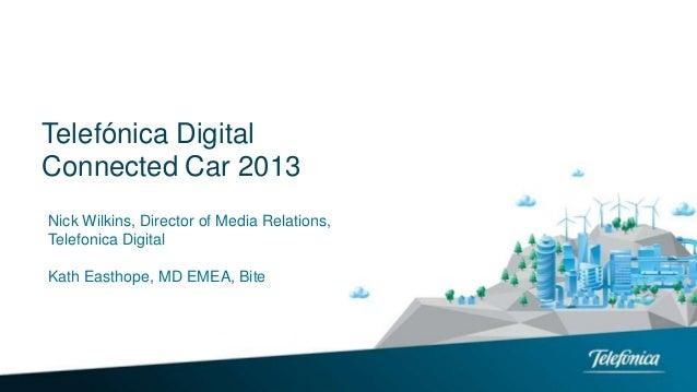 Telefonica Digital Connected Car 2013