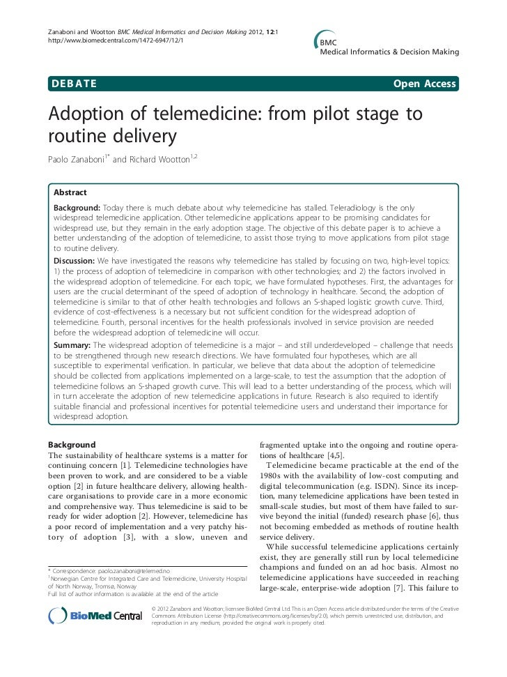 Telehealth Lessons Learned