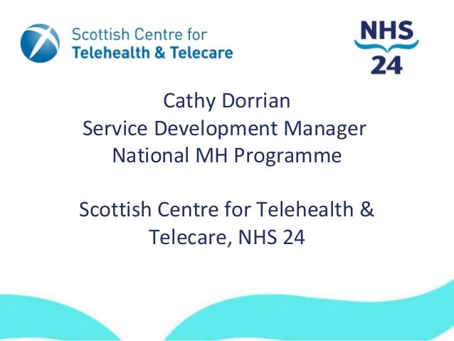 ms space North 2013: Telehealth and Telecare powerpoint presentation by Cathy Dorrian