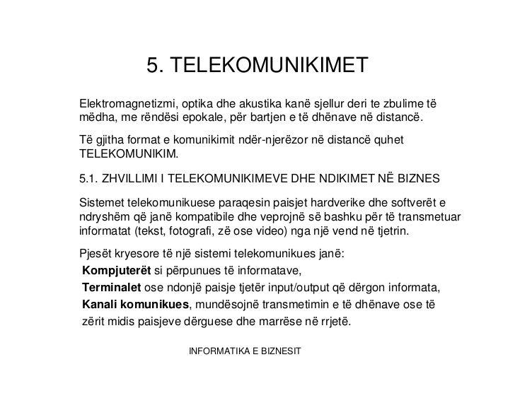 Telekomunikimet