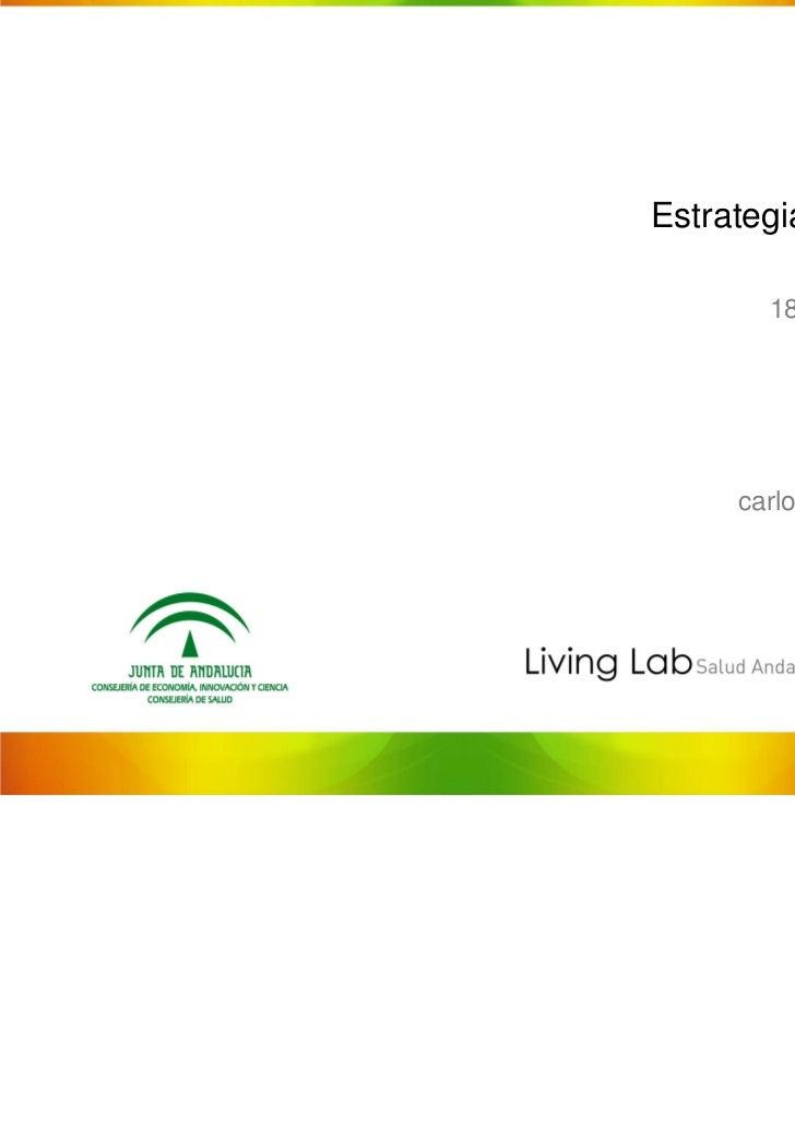 Living Lab Salud Andalucia: Telemedicina