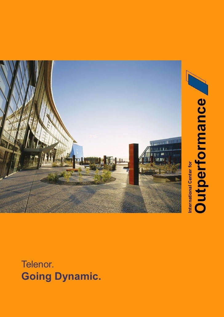 Telenor.          Going Dynamic.                                      International Center for     Page 1                 ...