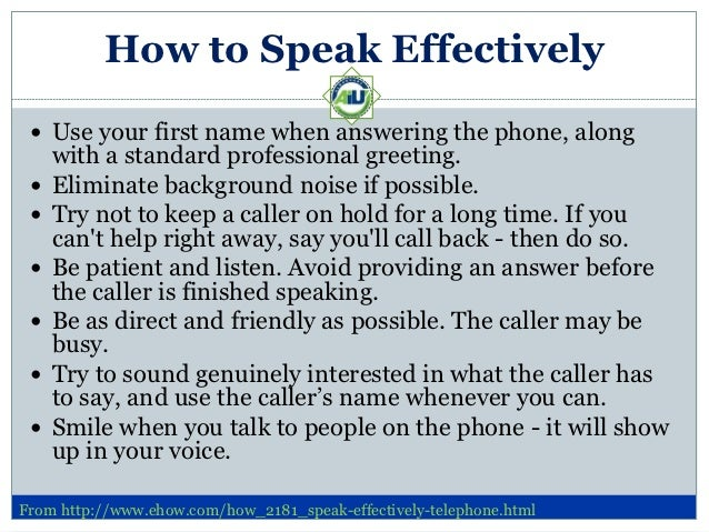 telephone answering  effective telephone answering skills