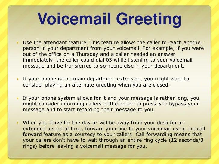 OptiCall practice telephone etiquette