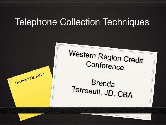 Telephone technique   18 oct 2012