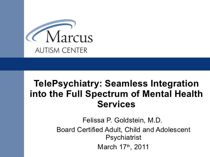 Tele psychiatry