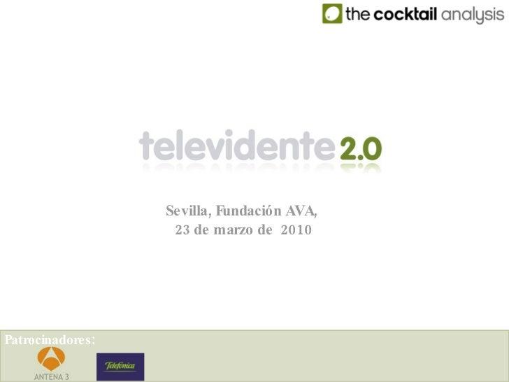 Televidente 2.0 Fundación Ava
