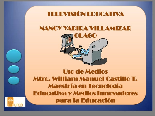 Televisión educativa nancy yadira villamizar olago