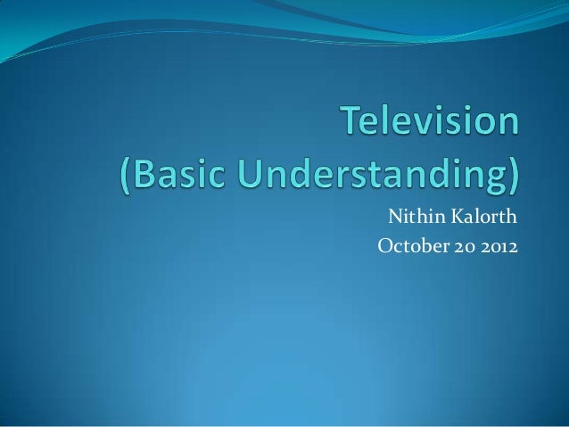 Nithin KalorthOctober 20 2012