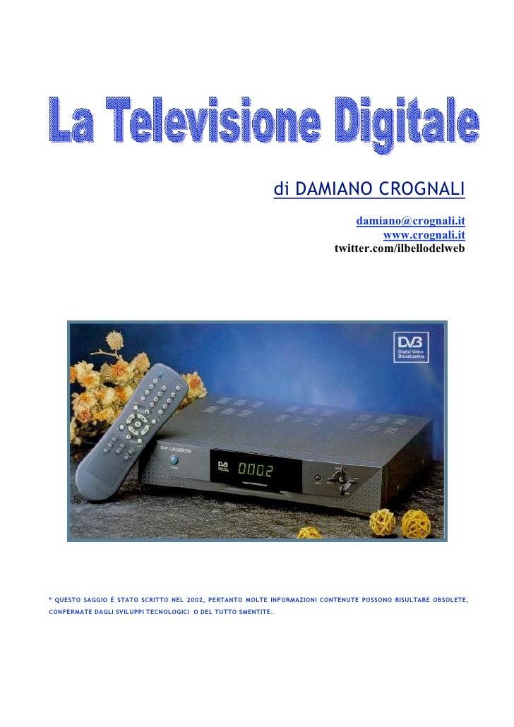 Televisione Digitale - Editoria multimediale