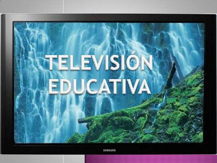Television educativa