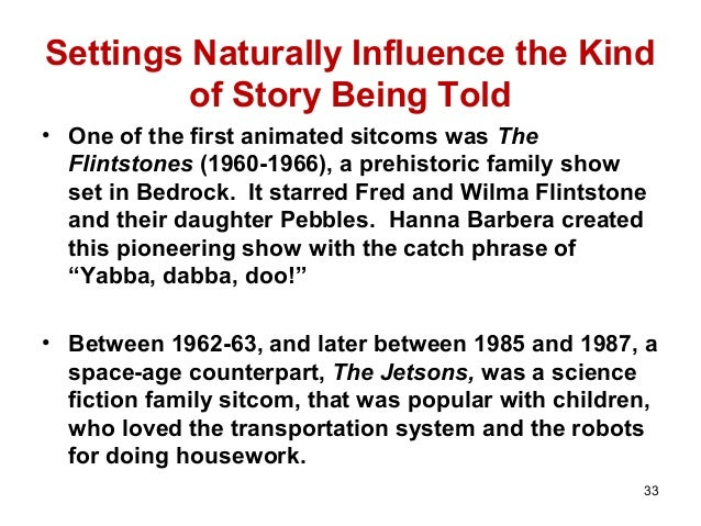 an analysis of television sitcoms and their influence on animated sitcoms In the aftermath of harvard's exam season i have finally spent some quality time with family at home not my own family of course but all the families i've neglected throughout the year: the griffins, the simpsons, and the dunphys, among many others.