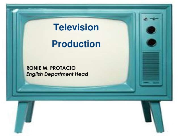 Television production module 1 a